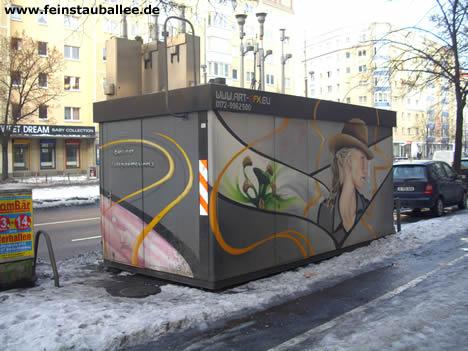 Messstation Luftverschmutzung  Frankfurter Allee